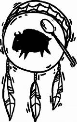 Native Drum Coloring Drawings Tattoo Patterns Symbols Shaman Wecoloringpage Clipartmag Boys sketch template