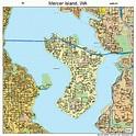 Mercer Island Washington Street Map 5345005