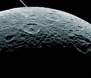 NASA Releases Incredible Photo of Saturn's Moon Dione ...
