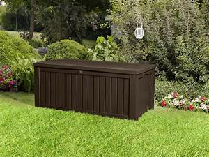 keter rockwood storage box dark brown wood effect gbp134 With katzennetz balkon mit garden storage box