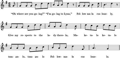 Scarborough Fair Sheet Music For Treble Clef Instrument