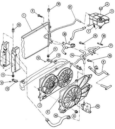 cooling system part
