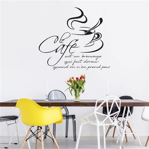 stickers citations cuisine sticker citation cuisine le café est un breuvage qui fait