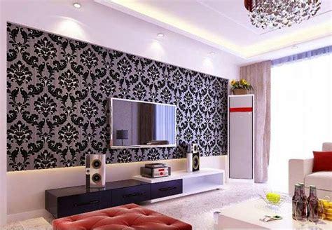 gambar wallpaper dinding ruang tv  bagus blog