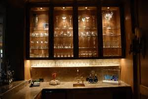 Lighting For Kitchen Cabinets by Cabinet Lighting Contemporary Wine Cellar Houston
