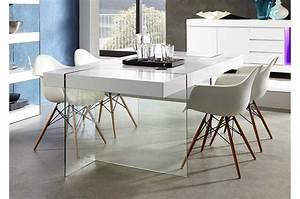 Table En Verre Design Salle A Manger Table Basse En Fer Et