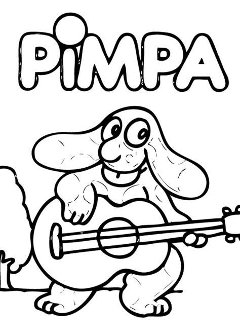 cose da disegnare cartoni animati la pimpa da colorare 30 disegni da stare gratis