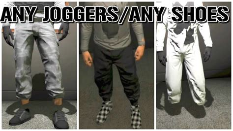 PS3/XBOX 360 Any Shoes With Black Joggers! CRAZY MODDED OUTFITS - YouTube
