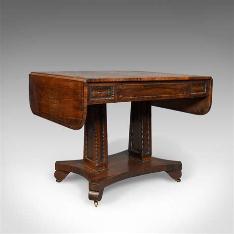 vintage sofa table antique sofa table rosewood regency antiques 3257