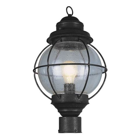 trans globe lighting 69905 bk black nautical 1 light