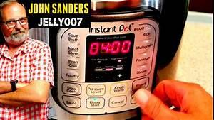 Instant Pot Delay Start Timer Program Cook Time How To