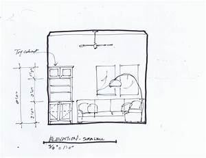 How to design the perfect lounge space with a sectional for Sectional sofa elevation