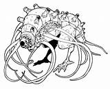 Colorare Disegni Mostri Da Stampare Monster Coloring sketch template
