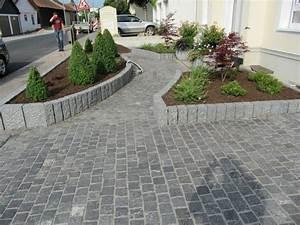 Steine Für Terrasse : 8 5qm granitpflaster 10x10x8cm dunkelgrau anthrazit ~ Michelbontemps.com Haus und Dekorationen