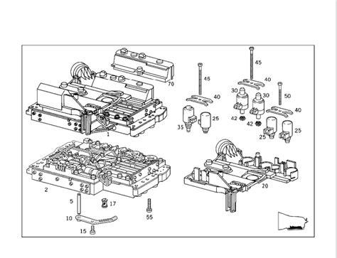 Der Actuator Wiring Diagram by Getriebe Automatikgetriebe Sp 252 Len Mercedes E Klasse