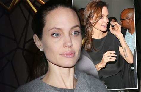 wasting  angelina jolie    pounds  bitter