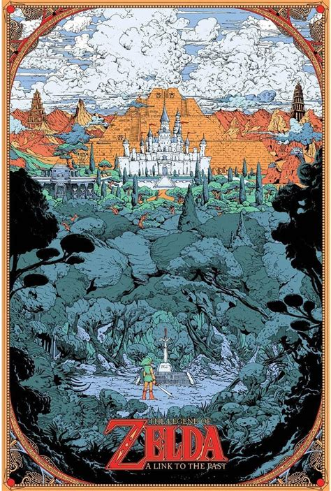 Incredible A Link To The Past Art By Kilian Eng Zelda
