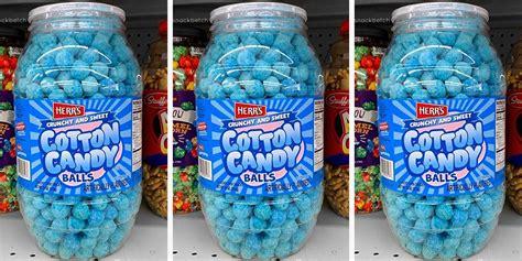 crunchy cotton candy balls    feel