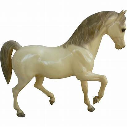 Breyer Arabian Horse Alabaster Stallion Belgian Sorrel