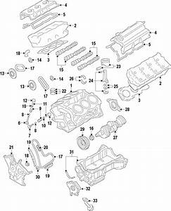 Lincoln Mks Engine Variable Valve Timing  Vvt  Solenoid