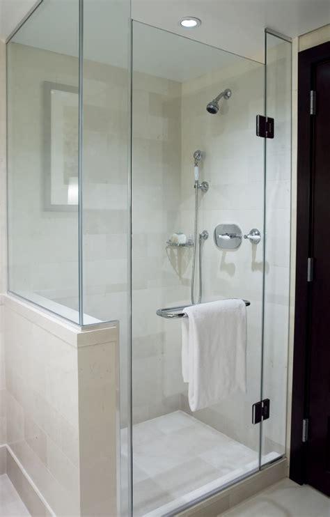 frameless shower  soffit  return wall  similar