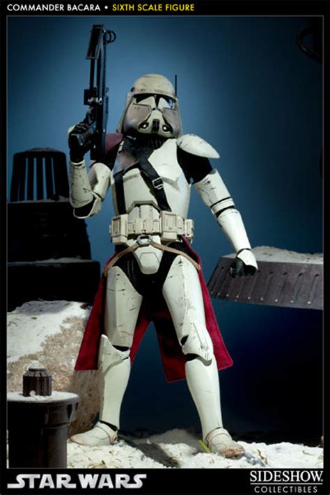 star wars commander bacara sixth scale figure  sideshow