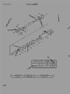 Tilt Cylinder - Fork Lift Hyundai 30df-7  25  30  33df