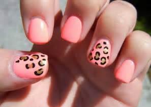 Pics photos cute cheetah nail designs rainbow leopard nails