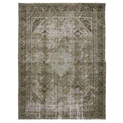 distressed area rug distressed mahal area rug at 1stdibs