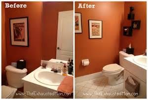 Redecorate Bathroom a guest ready bathroom easy redecorating the exhausted mom
