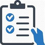 Icon Checklist Clipart Check Done Tasks Transparent