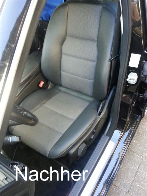 auto ledersitze reparieren seitenwange neu beziehen