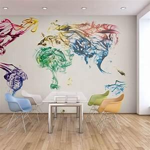 Tapisserie Carte Du Monde : papier peint intiss top vente papier peint tableaux muraux xxl 200x154 cm ~ Teatrodelosmanantiales.com Idées de Décoration