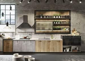 Cuisine Style Industriel Bois : cuisine style industriel id es de d co meubles et ~ Teatrodelosmanantiales.com Idées de Décoration