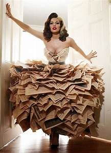 15 Inventive Dresses Made from Recycled Materials | Brit + Co