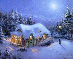 Christmas house Desktop wallpapers 1280x1024