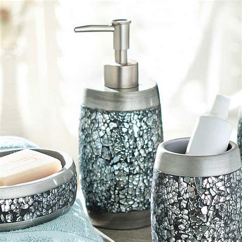 Apartments Stunning Mosaic Bathroom Accessories Design
