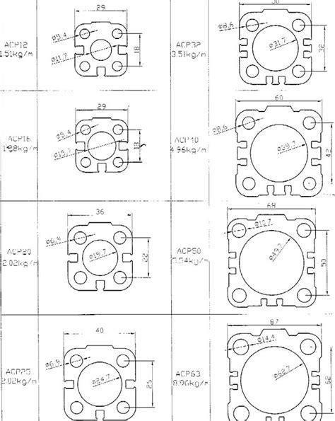 Pneumatic Cylinder Tubes | Pneumatic Cylinder Aluminum