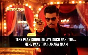 Famous Bollywoo... Bombay Film Quotes