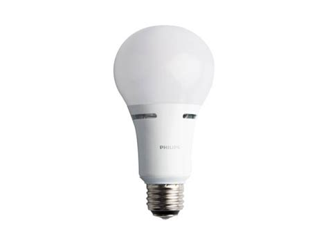 3 Way Led Light Bulb by Philips 3 Way 120 Volt Non Dimmable 2700k Warm White Led A