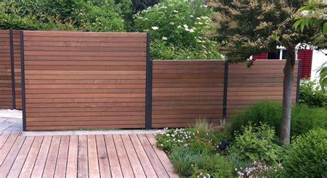 Sichtschutzelemente Holz › diebold.zgraggen Gartenbau