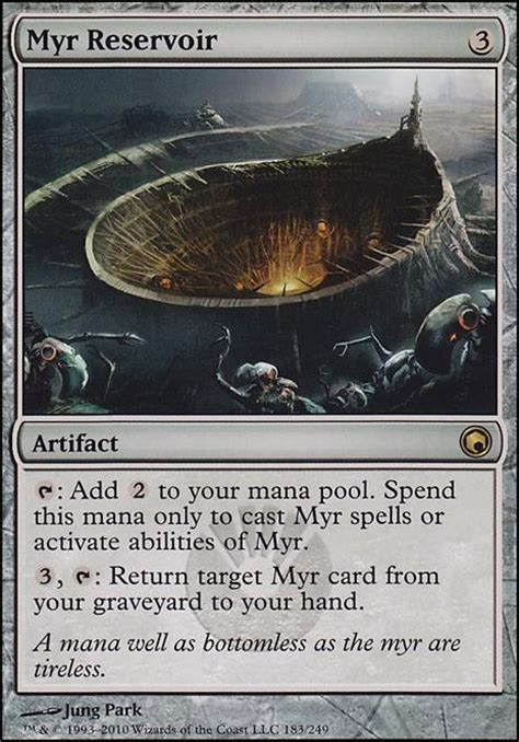 myr reservoir som mtg card