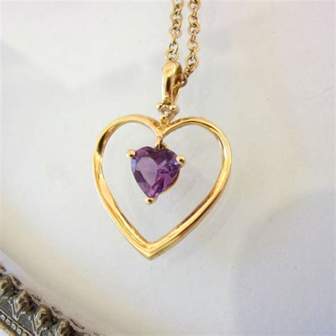 Heart Pendants 14k With Unknown Makers Marks
