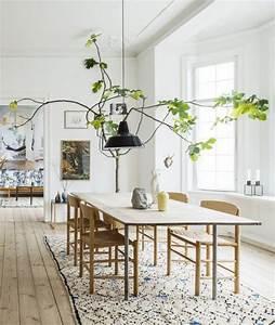 Luminaire Style Scandinave : la salle manger scandinave en 67 photos ~ Teatrodelosmanantiales.com Idées de Décoration