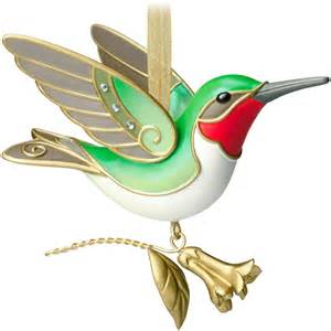 hallmark of birds ornament series