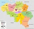 Belgium Map - 2020