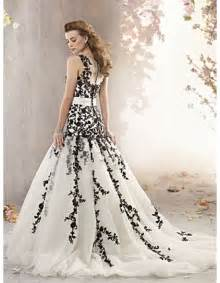wedding dresses black chic wedding dresses with black lace for sophisticated bridal look sangmaestro