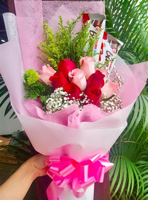 chocolate  roses bouquet design  giftr malaysia