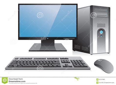 am駭agement poste de travail bureau poste de travail d 39 ordinateur de bureau photo stock image 20137680