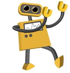 Animated Robot Dancing
